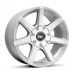 Borbet CWE crystal silver 5/127 17x8 ET30