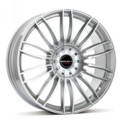 Borbet CW3 sterling silver 5/120 21x9 ET25