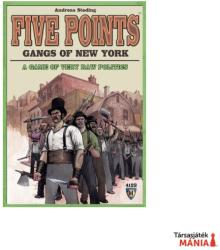 Mayfair Games Five Points Gangs of New York - angol nyelvű