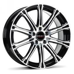 Borbet CW1 black polished CB65.1 5/108 17x7 ET45