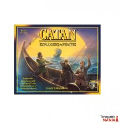 Mayfair Games Catan Explorers & Pirates - angol nyelvű