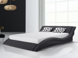 Beliani VICHY franciaágy, szövet, ágyráccsal 180x200cm