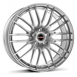 Borbet CW4 sterling silver CB72.5 5/108 17x7 ET32