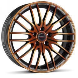 Borbet CW4 black orange glossy 4/100 17x7 ET38