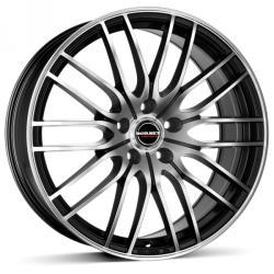 Borbet CW4 black polished matt 5/100 17x7 ET35
