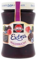 Schwartau Extra erdei gyümölcs dzsem (340g)