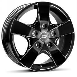 Borbet CWF black glossy 5/118 15x6.5 ET60