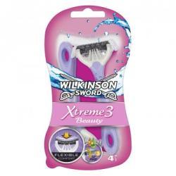 Wilkinson Sword Xtreme 3 Beauty eldobható borotva (4db)
