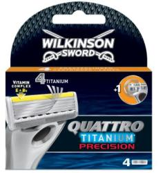 Wilkinson Sword Quattro Titanium Precision borotvabetét (4db)