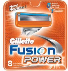 Gillette Fusion Power borotvabetét (8db)