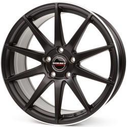 Borbet GTX black rim polished matt 5/112 19x9.5 ET35