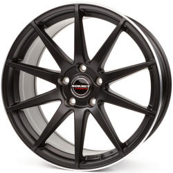 Borbet GTX black rim polished matt 5/120 20x8.5 ET35