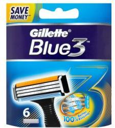 Gillette Blue3 borotvabetét (6db)