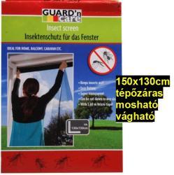 Tépőzáras vágható, mosható szúnyogháló ablakra 150x130cm