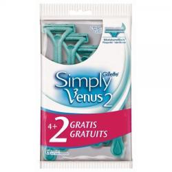 Gillette Simply Venus 2 eldobható borotva (6db)