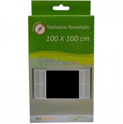 Tépőzáras szúnyogháló ablakra 100x100cm