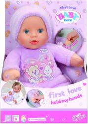 Zapf Creation Baby Born - Bebelusul Tine-Ma De Maini (822517)