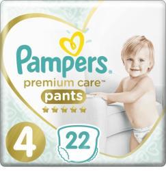 Pampers Premium Care Pants bugyipelenka 4 Maxi 22db