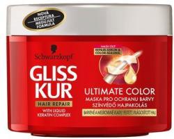Schwarzkopf Gliss Kur Ultimate Color tégelyes hajpakolás (200ml)