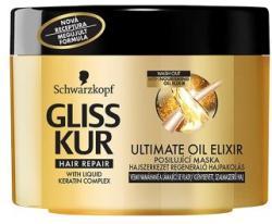Schwarzkopf Gliss Kur Ultimate Oil Elixir tégelyes hajpakolás (200ml)