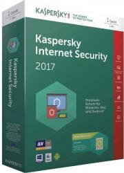 Kaspersky Internet Security 2017 Multi-Device (10 User, 1 Year) KL1941OCKFS