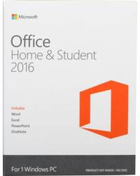 Microsoft Office 2016 Home & Student for Win 32/64bit ENG (1 User) 79G-04597