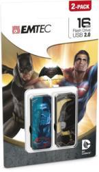 EMTEC Batman Vs Superman M700 16GB USB 2.0 2x ECMMD16GM700BMP2