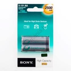 Sony AA 2500mAh (2) NH-AA-B2E
