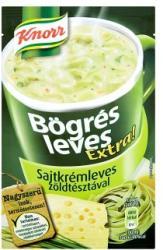 Knorr Bögrés Leves Extra! Sajtkrémleves Zöldtésztával 35g