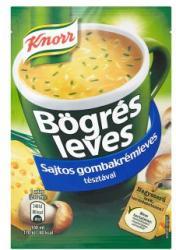 Knorr Bögrés Leves Sajtos Gombakrémleves Tésztával 17g