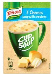Knorr Cup a Soup Sajtkrémleves Zsemlekockával 17g