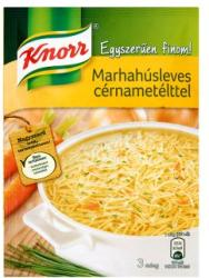 Knorr Egyszerűen Finom! Marhahúsleves Cérnametélttel 73g