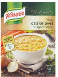 Knorr Tradicionális Falusi Csirkeleves Húsgombóccal 66g