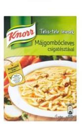 Knorr Telis-Tele Májgombócleves Csigatésztával 58g