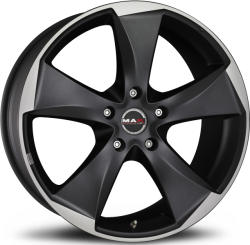 Mak Raptor 5 Ice Superdark CB76 5/112 17x8 ET30