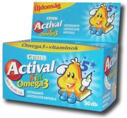 BÉRES Actival Kid Omega-3 Kapszula - 30db