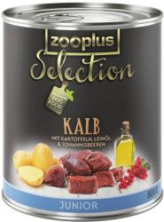 zooplus Selection Junior - Veal 6x800g