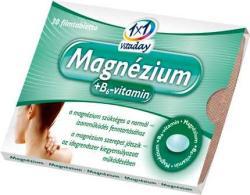 1x1 Vitaday Magnézium + B6-vitamin filmtabletta (30db)