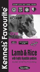 Kennels' Favourite Lamb & Rice 4kg