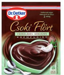 Dr. Oetker Csoki Flört csokoládés-kókuszos krémpudingpor (60g)