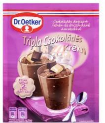 Dr. Oetker Tripla csokoládés krémpor (71g)
