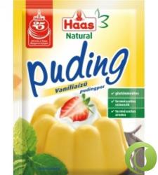 Haas Natural vaníliás pudingpor (40g)