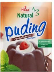 Haas Natural csokoládés pudingpor (44g)