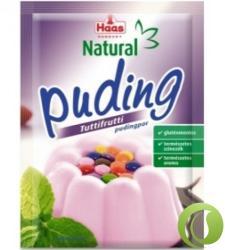 Haas Natural tuttifrutti pudingpor (40g)