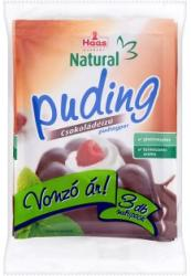 Haas Natural csokoládés pudingpor (3x44g)