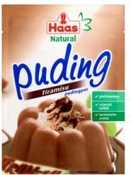 Haas Natural tiramisu pudingpor (40g)