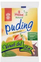 Haas Natural vaníliás pudingpor (3x40g)
