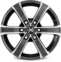 OZ Sahara 6 Matt Graphite Diamond Cut CB106.1 6/139.7 17x8 ET15