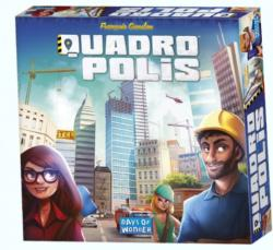 Days of Wonder Quadropolis - angol nyelvű