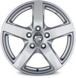 MSW 55 Full Silver 5/112 17x7.5 ET28